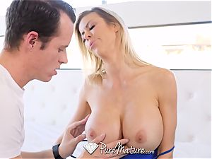 squirting light-haired milf nailed truly firm
