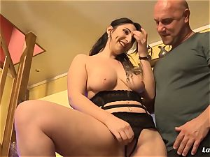 LA novice - steaming anal invasion plumb with sexy French amateur