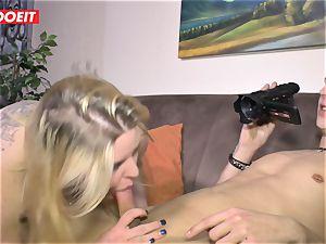 LETSDOEIT - lush woman Gets boinked hard On fucky-fucky gauze