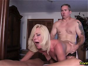 group nail the Stripper with Ms Paris Rose