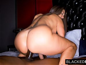 BLACKEDRAW Ava Addams Is tearing up big black cock And Sending images To Her hubby