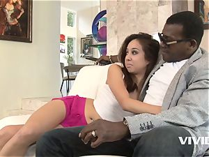 Mila Jade Getting Her vag cosseted By Her Step dad