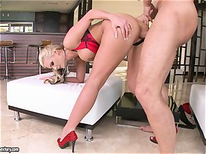 big-titted Phoenix Marie enjoys getting her cunt screwed