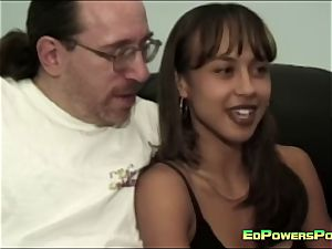 Ed Powers smashes the bootie of a sweetie