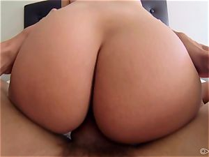 Anissa Kate having her wooly tiny cunt porked