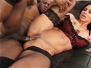 love buttons Jade is caboose boinked by her ebony lover