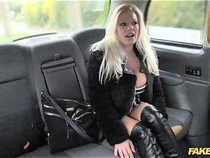 faux cab superstar makes debut in london cab