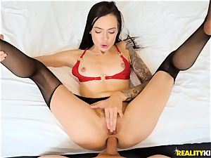 Marley Brinx boned in her butthole
