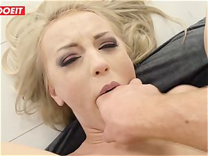 LETSDOEIT - super-fucking-hot platinum-blonde ass fucked hardcore by Stranger