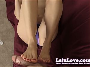 stroking YOUR schlong with my palms and soles til you jism