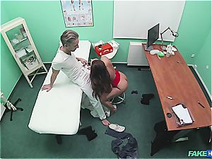 Hidden cam bang-out in the doctors office