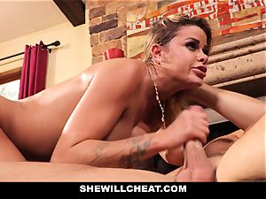 hotwife spouse witnesses Wifes gash Get demolished