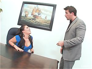japanese cutie London Keyes gets an office pound