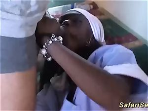 extreme shag fuckfest with african stunner