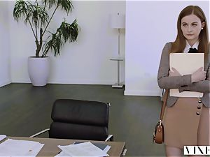 VIXEN Intern predominated By Her Father's business playmate