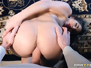Smoking super-fucking-hot brown-haired Jimena Lago point of view