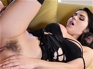 Valentina Nappi jammed in her wet pussyhole