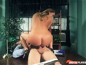 Carter Cruise boinked rigid over the table