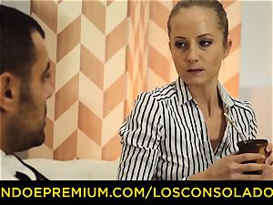 LOS CONSOLADORES - mind-blowing blondes rough fourway