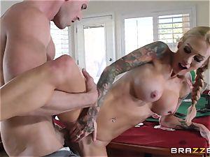 Sarah Jessie banging her spouses poker buddy