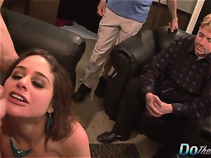 wife Cathy Heaven Is buggered by a Stranger and Her spouse Just likes It