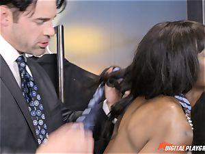 super-sexy Ana Foxx has molten warm intercourse with Charles Dera