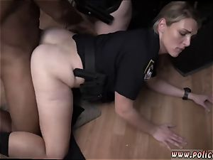 light-haired nubile cooch toy dump and lucky suck off xxx moist flick takes hold of police poking a