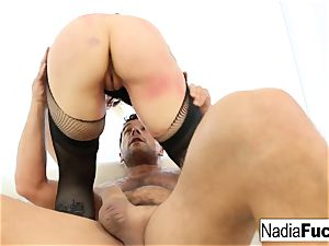 Nadia milky gets drilled by Ramon Nomar