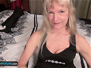 EuropeMature aged grandma Cindy gone too mischievous