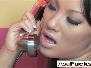Asa gets super-steamy and nasty on the phone