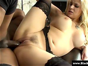 blond chesty Sarah Vandella luvs bbc in this HD movie