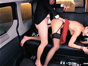 pummeled IN TRAFFIC - british Tina Kay pulverized in the car