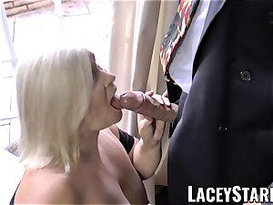 LACEYSTARR - nastiest grannie analled before cum-shot