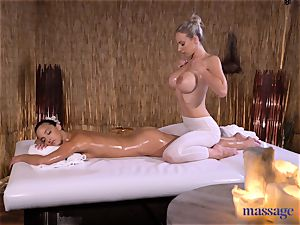 massage apartments fantastic brown-haired Amirah Adara