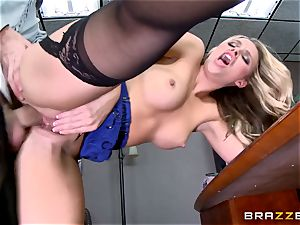 Lawful babe Alexis Monroe promises her finest services
