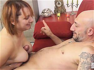 casting ALLA ITALIANA - Italian redhead deep ass-fuck sex