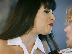 molten vampire honey Mercedes Carrera rides firm penis