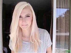uber-sexy ash-blonde Alexa grace