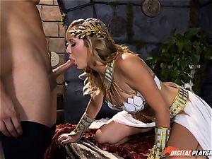 Brett Rossi knows how to heal an antsy spear