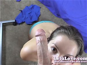 cam girl gives you pov surprise blowage