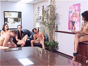 Getting mischievous in the office part 5