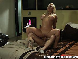inked blondie hoe Natalia Starr sucks and rails