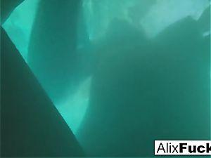 Underwater hidden camera lesbo fun