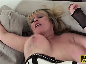 humiliated uk granny submits to male domination